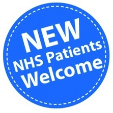 NEW NHS PATIENTS WELCOME